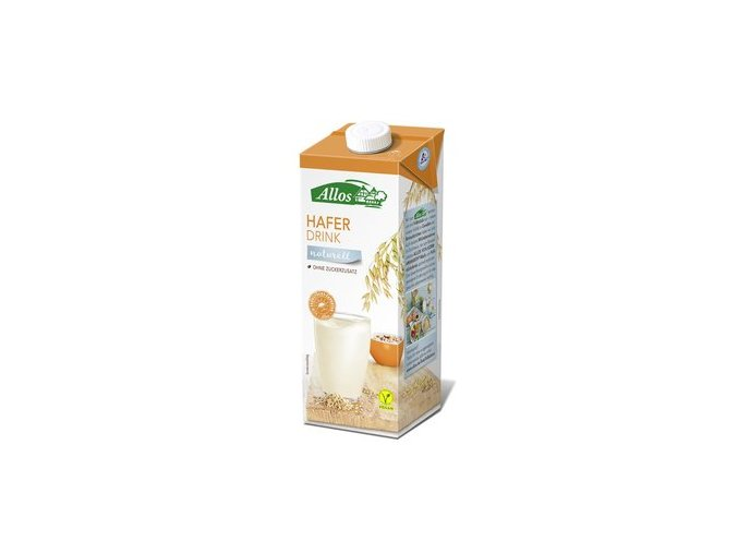 allos hafer drink naturell 1 l hafermilch