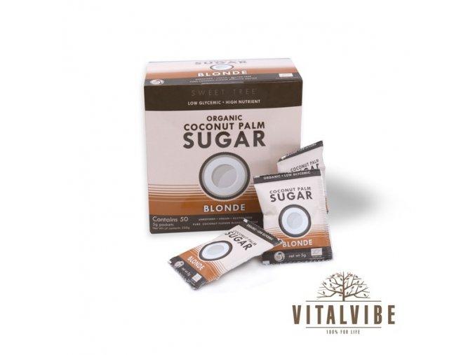 Kokosový cukor BIO - porcovaný - 50 x 5 g