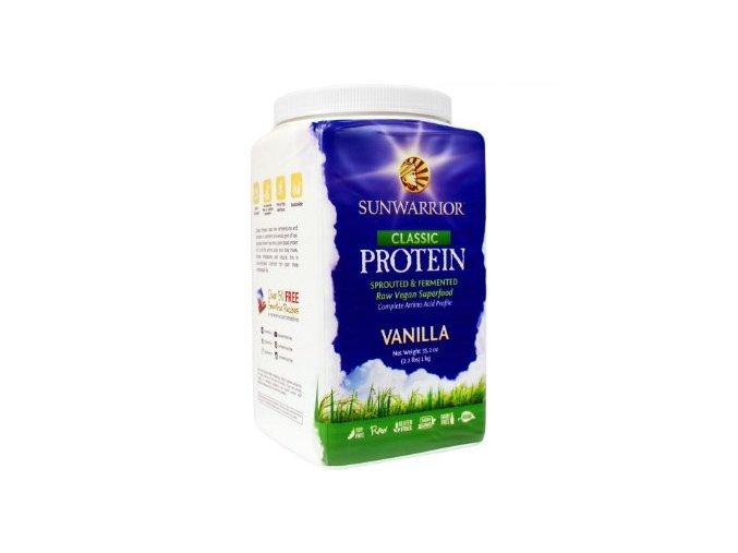 Sunwarrior Proteín - Vanilkový - 1 kg
