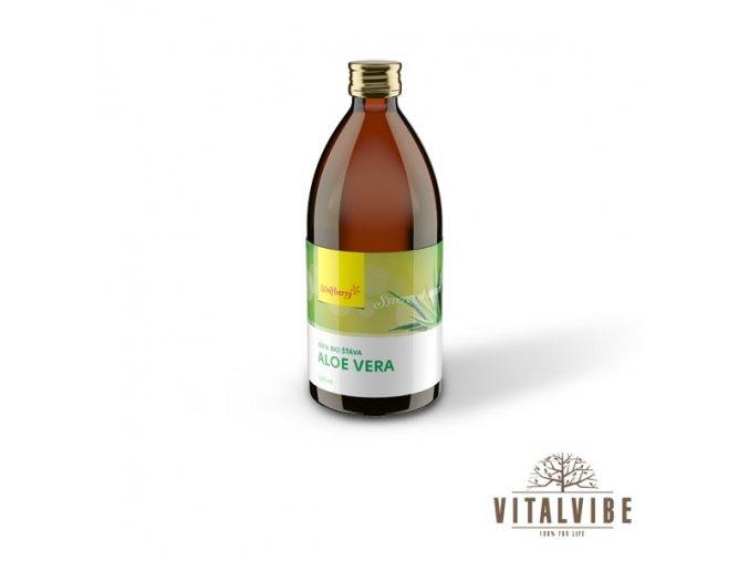 Aloe vera šťava 100% BIO - 500 ml