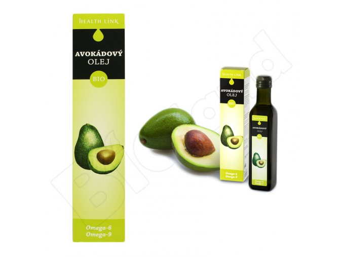 Avokádový olej BIO Health Link - 250 ml