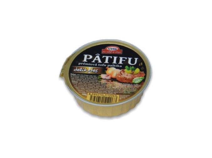 Nátierka Patifu delikates - 100g