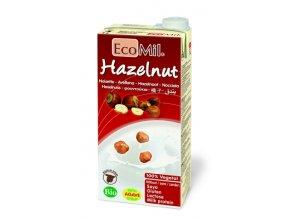 Ecomil Lieskovoorieškové mlieko BIO bez cukru Nature 1l