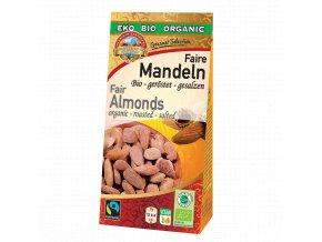 Pearls Mandle pražené a solené BIO Fairtrade - 70g