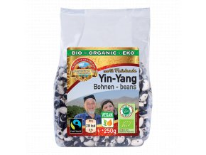Pearls Yin Yang fazuľa BIO Fairtrade - 250g