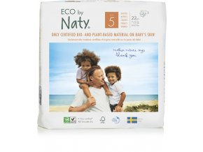 Plienky Naty Nature Babycare Junior 11-25 kg (23 ks)