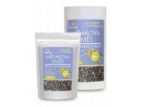 Raňajková zmes: chia + kakaové bôby BIO / RAW - 800g