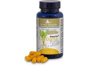 Curcuma Bioperine® forte extrakt - 90 kapsúl