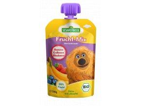 Quetsch Pack Frucht Mix Samson Banane Erdbeere Blaubeere