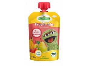 Quetsch Pack Frucht Mix Oskar Birne Banane Erdbeere