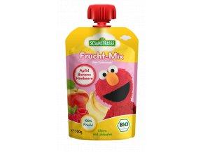 Quetsch Pack Frucht Mix Elmo Apfel Banane Himbeere