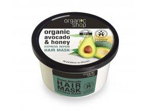 Vlasová maska Honey Avocado