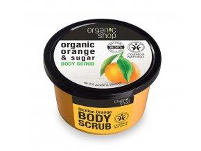 Telový peeling Sicilian Orange
