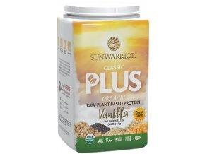 Sunwarrior Protein Classic Plus BIO - Vanilkový - 750g