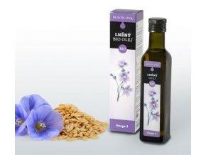 Ľanový olej BIO Health Link - 250 ml