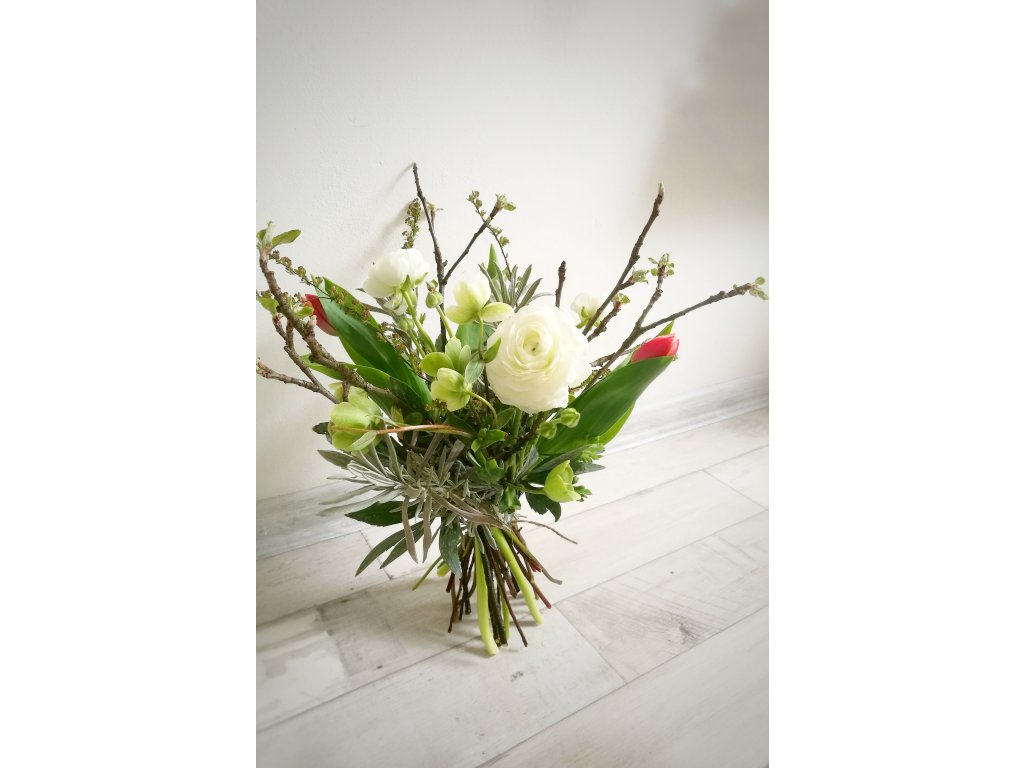 Dárkový poukaz - Předplatné na květiny (4 x S)