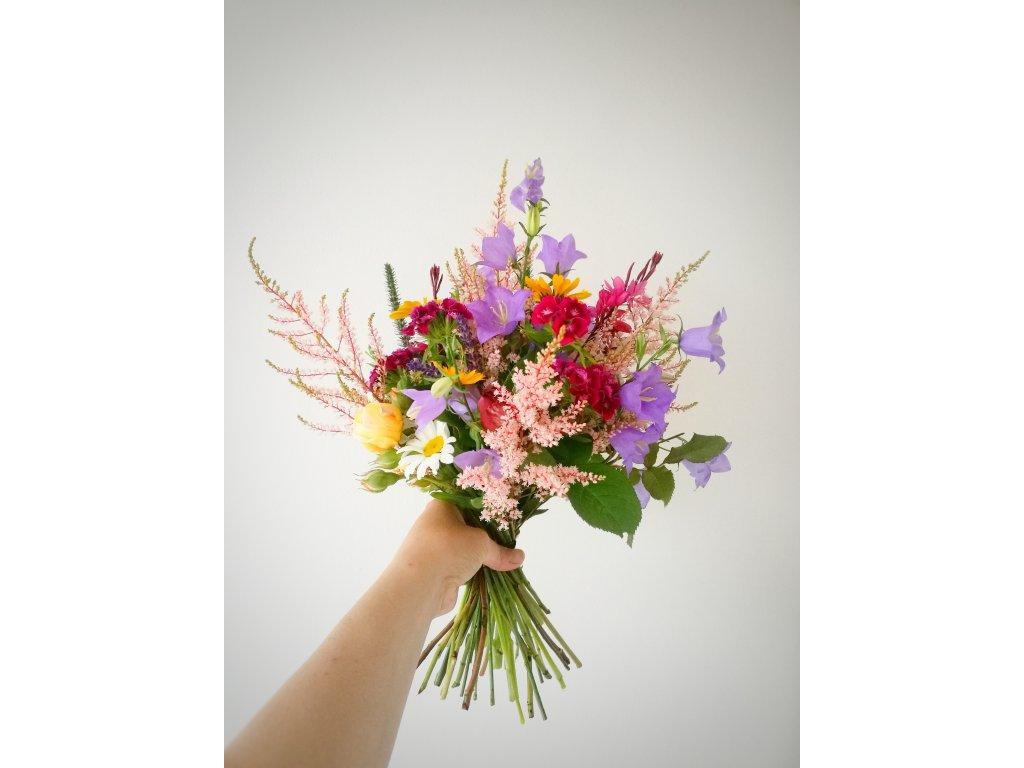 Dárkový poukaz - Předplatné na květiny (8 x S)