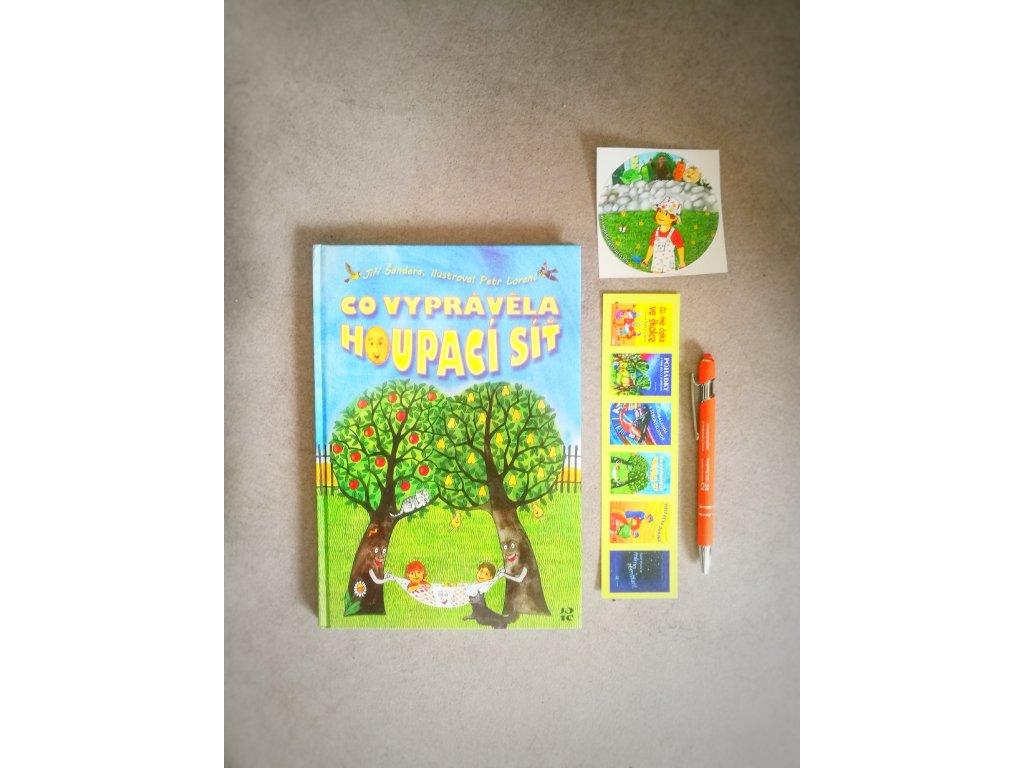 Dětská knížka - Co vyprávěla houpací síť