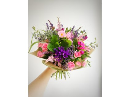 Dárkový poukaz - Předplatné na květiny (4 x M)