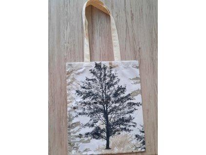 Látková taška - Stromy