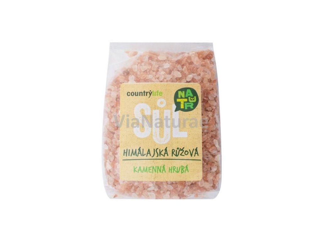 Sůl himálajská růžová hrubá 500 g COUNTRY LIFE