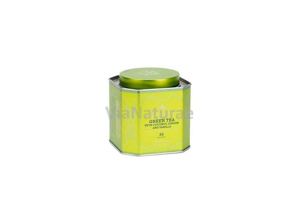 HARNEY AND SONS GREEN TEA WITH COCONUT, GINGER & VANILLA 30KS