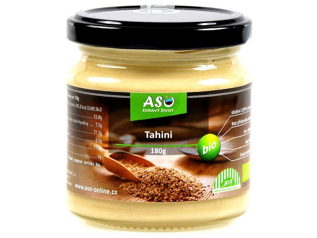 TAHINI NATURAL BIO 180g