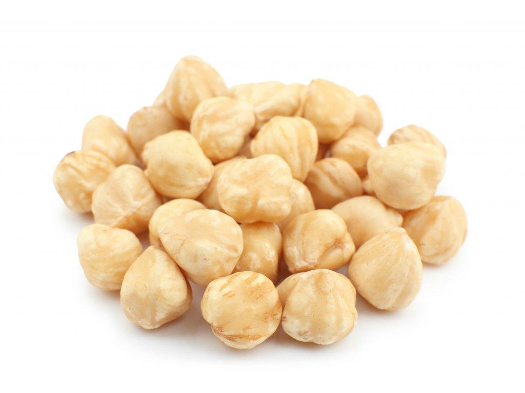 lískové ořechy blanšírované