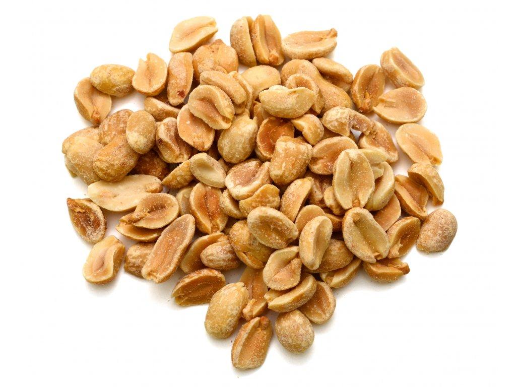 arašídy pražené