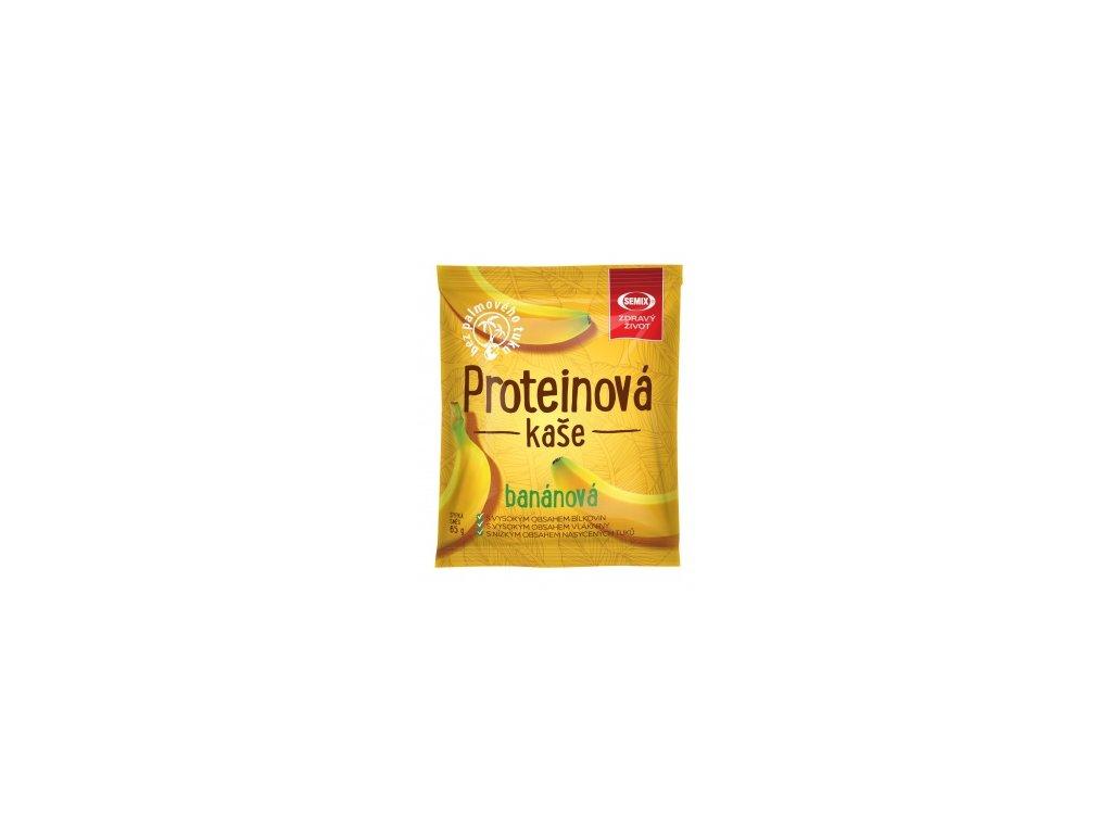 Proteinová kaše banánová 65g