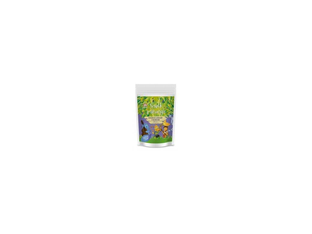 Iswari Snídaňová směs snack z džungle borůvka (dětská snídaně) 300g