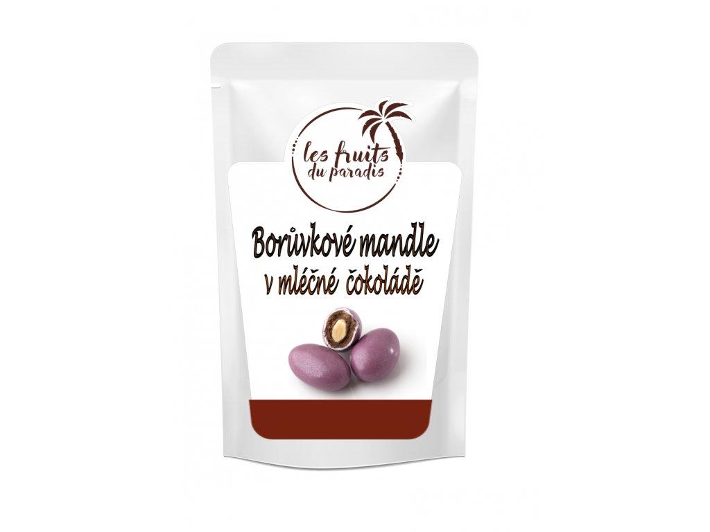 Boruvkove mandle v mlečne čokol