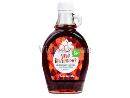 BRUSINKOVÝ SIRUP 250ml BIO COUNTRY LIFE