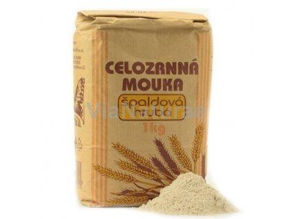ŠPALDOVÁ MOUKA HRUBÁ 1kg BIO