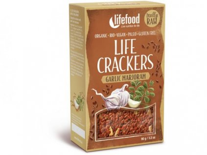 2939 LIFEFOOD LIFE CRACKERS GARLIC MARJORAM