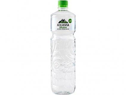 AquaVia neperlivá pramenitá voda zásaditá 1 l