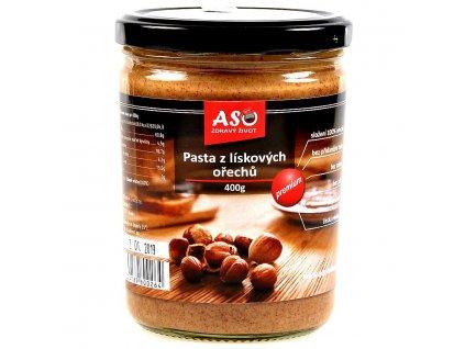 Pasta z liskovych orechu 400g r