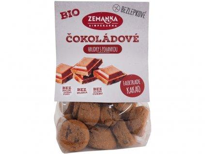 Bio Bezlepkové čokoládové hrudky 100 g