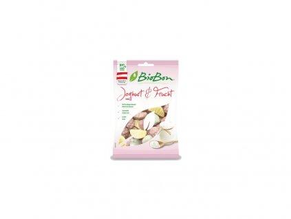 Bio Gumové bonbóny jogurt ovoce 100g