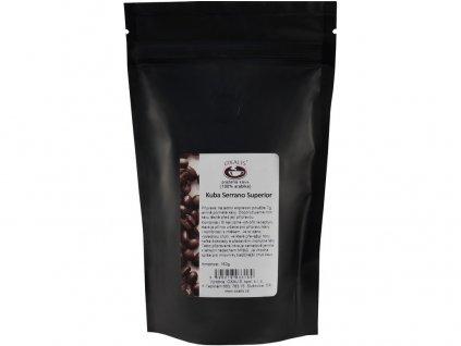 Káva Kuba Serrano Superior 150g zrnková plantážní káva, min. trv. 13.5.2019