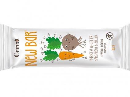 Cereální tyčinka New Bar Mrkev & Celer 33g