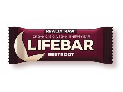 Lifebar červená řepa BIO RAW 47g