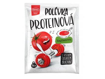 proteinová polévka rajčatová