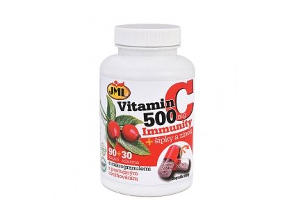 vitamin C 500 Immunity sipky zinek 90 30 280x280