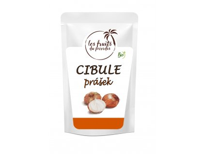 Cibule prášek BIO 250g, Les fruits du paradis