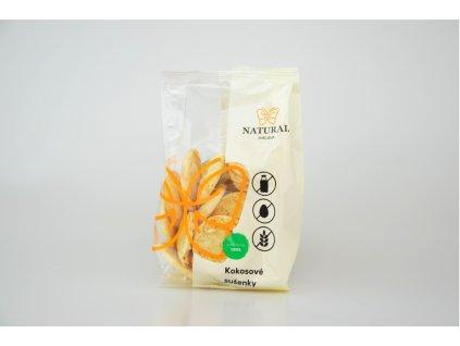 Kokosové bezlepkové sušenky - Natural 150g