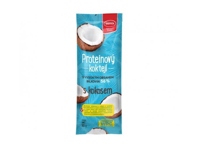 Proteinový koktejl s kokosem 30g