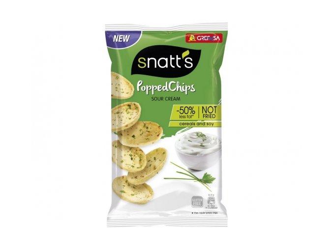 snatt´s chipsy zakysaná smetana a cibulka