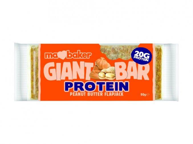 45618 proteinovy obri flapjack arasidove maslo 90g