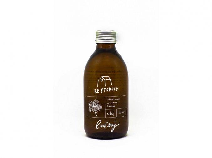 46176 lneny olej 250ml za studena lisovany